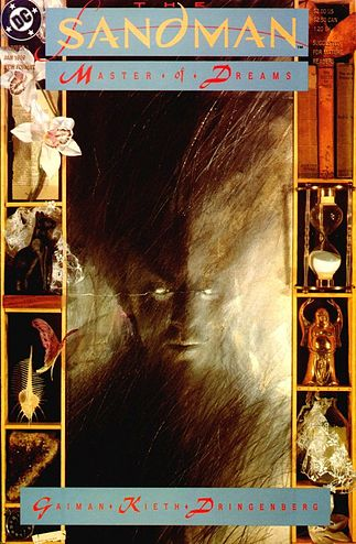 Cover of The Sandman vol. 2, #1 (Jan, 1989). Art by Dave McKean.
